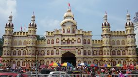 Фестиваль Bhubaneswar Dussera стоковое изображение rf