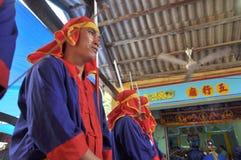 Фестиваль Cau Ngu в Вьетнаме, который также вызван фестивалем Кита, самый большой фестиваль для рыболова который требует для wind Стоковое фото RF