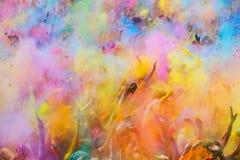 Фестиваль de los colores Holi Стоковое Изображение