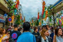 Фестиваль Hiratsuka Tanabata Стоковые Фото