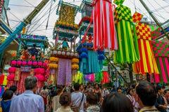 Фестиваль Hiratsuka Tanabata Стоковая Фотография RF