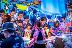Фестиваль Hiratsuka Tanabata Стоковые Фотографии RF