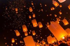 Фестиваль International Yeepeng Lanna Стоковая Фотография RF