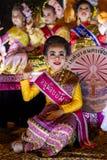 Фестиваль 2014 Loi Krathong в Чиангмае, Таиланде Стоковая Фотография