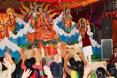 Фестиваль Navratra стоковые изображения rf