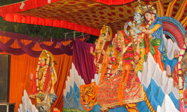 Фестиваль Navratra стоковое изображение rf