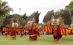 Фестиваль Reog стоковое изображение rf