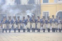 Фестиваль Sarzana Наполеона Стоковые Изображения RF