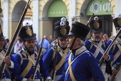 Фестиваль Sarzana Наполеона Стоковые Изображения