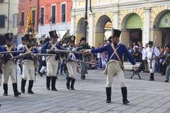 Фестиваль Sarzana Наполеона Стоковое Изображение
