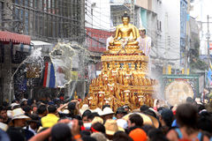 Фестиваль Songkarn в Чиангмае, Таиланде Стоковое фото RF