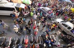 Фестиваль Songkran - Чиангмай Стоковые Фото