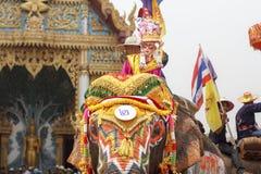 Фестиваль Songkran, Sukuthai Таиланд Стоковые Изображения