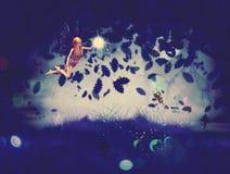 Фея ночи Стоковые Изображения
