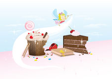 Фея пирожного Стоковое фото RF