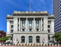 Федеральное здание - Провиденс, Род-Айленд стоковые фото