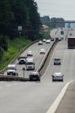 Федеральное шоссе в зоне Kaluga России стоковое изображение rf