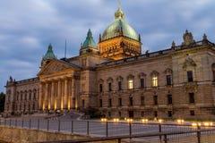 Федеральный административный суд, Лейпциг Стоковые Изображения RF