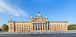 Федеральный суд Германии в Лейпциге Стоковое Изображение