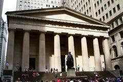 Федеральный Hall, Нью-Йорк Стоковое Изображение RF