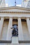 Федеральный Hall, Нью-Йорк Стоковые Фото