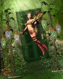 Путь к Fairyland иллюстрация штока