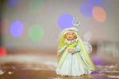 фе немногая Рождество Стоковое фото RF