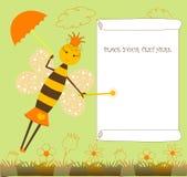 фе пчелы Стоковая Фотография RF