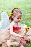 фе ребенка одетьнная costume Стоковые Изображения RF