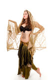 фе танцора costume воодушевила детенышей Стоковая Фотография