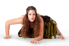 фе танцора costume заискивая внутриspired young Стоковое Фото