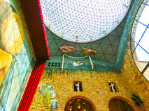 Фигерас, Испания - 15-ое сентября 2015: Детали от музея ` s Dali Стоковое фото RF