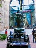 Фигерас, Испания - 15-ое сентября 2015: Детали от музея ` s Dali Стоковое Фото