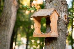 Фидер дома птиц Стоковое Изображение RF