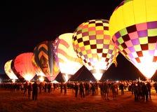 фиеста воздушного шара albuquerque стоковое изображение rf