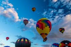 Фиеста 2016 воздушного шара Альбукерке горячая Стоковые Фотографии RF