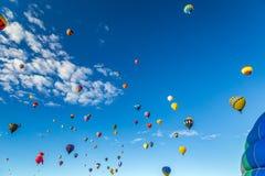 Фиеста 2016 воздушного шара Альбукерке горячая Стоковые Изображения RF