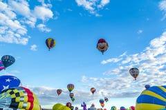 Фиеста 2016 воздушного шара Альбукерке горячая Стоковые Фото