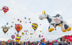 Фиеста воздушного шара Альбукерке Стоковые Изображения RF
