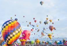 Фиеста воздушного шара Альбукерке Стоковые Изображения