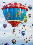 Фиеста воздушного шара Альбукерке Стоковое Изображение