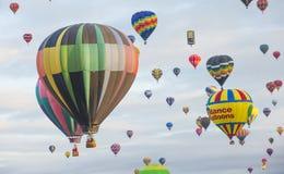 Фиеста воздушного шара Альбукерке Стоковая Фотография