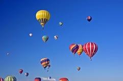 фиеста ballon albuquerque стоковое изображение rf