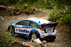 Фиеста WRC Форда автомобиля ралли Rc Стоковое Изображение RF