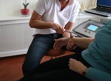 физиотерапия стоковое изображение