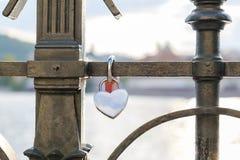 Фиксировать ключа сердца Стоковое фото RF