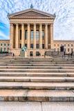 Филадельфия, Пенсильвания, США - декабрь 2018 - председатель суда Соединенных Штатов Джон Маршалл, рассказом Вильям Wetmore, на стоковое изображение