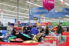 Филадельфия, Пенсильвания 23-ье ноября 2017: Черные покупки пятницы в магазине Стоковое Изображение