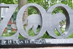 ФИЛАДЕЛЬФИЯ, PA - 30-ОЕ МАЯ: Зоопарк Филадельфии, зоопарк ` s первого Amercia стоковое фото