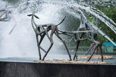 ФИЛАДЕЛЬФИЯ, PA - 30-ОЕ МАЯ: Зоопарк Филадельфии, зоопарк ` s первого Amercia стоковые изображения